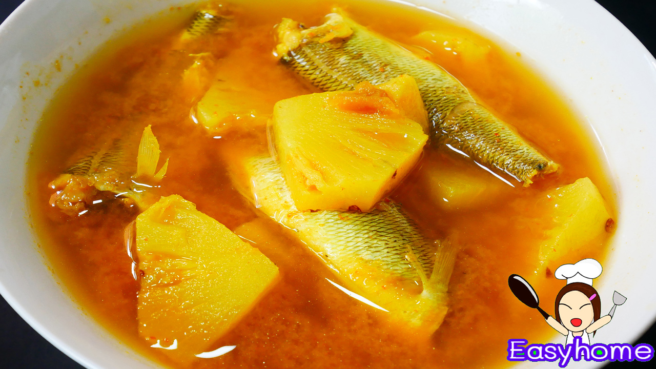 แกงส้ม ใต้ ใส่ สับปะรดสูตรทำง่าย