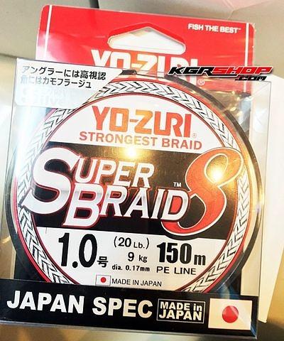 น้าท่านใดเคยใช้สายตัวนี้บ้างครับ Yozuri SuperBraid 8
