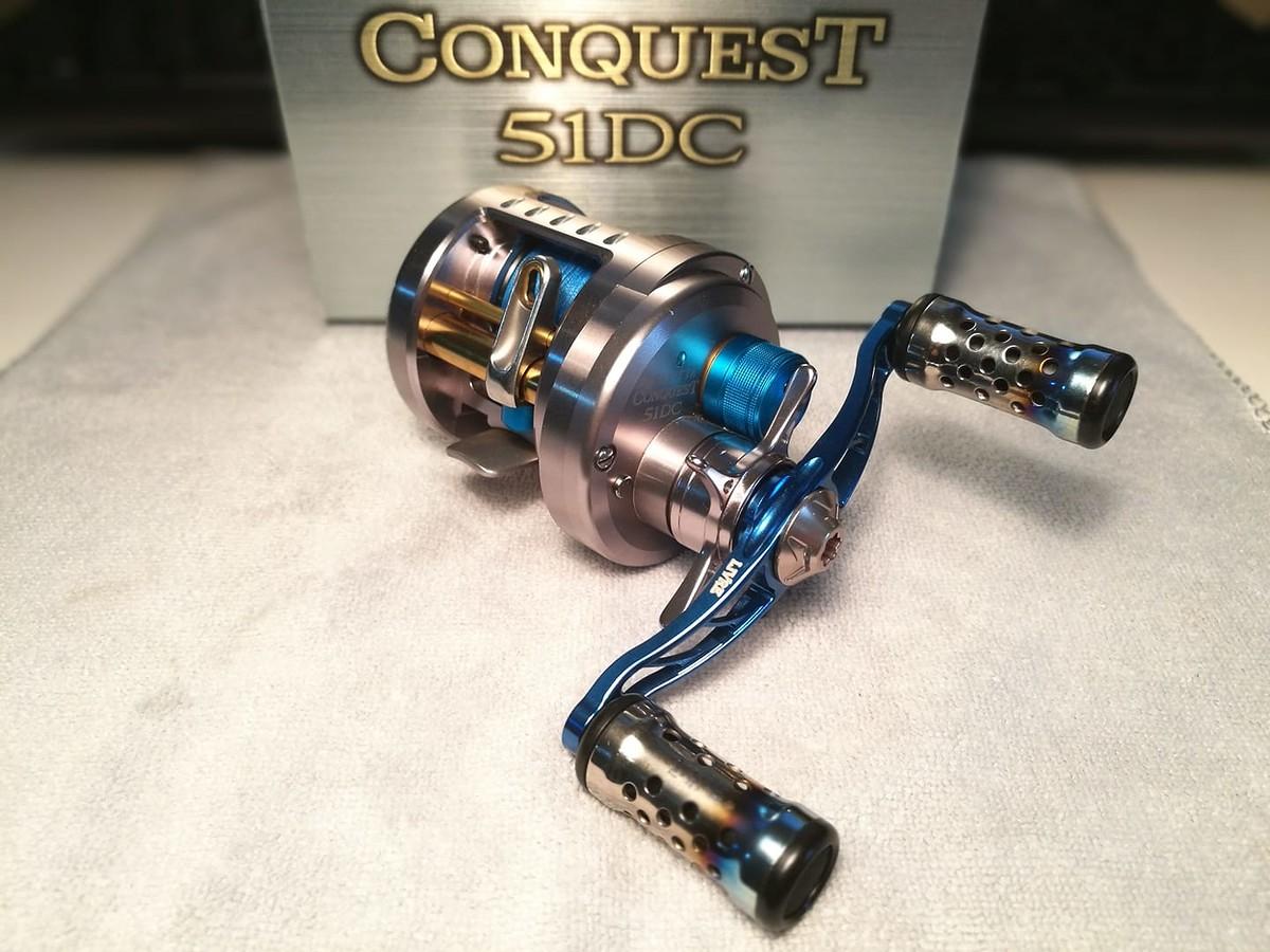Shimano Conquest 51 (Avail Spoon CNQ5014TR) / Conquest 51DC Livre CBF 85 Limited