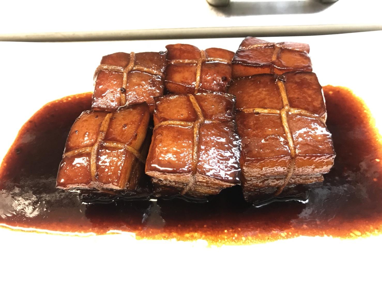 東坡肉 วันนี้เรามาทำสามชั้นต้มซีอิ้วแบบจีนกันครับ