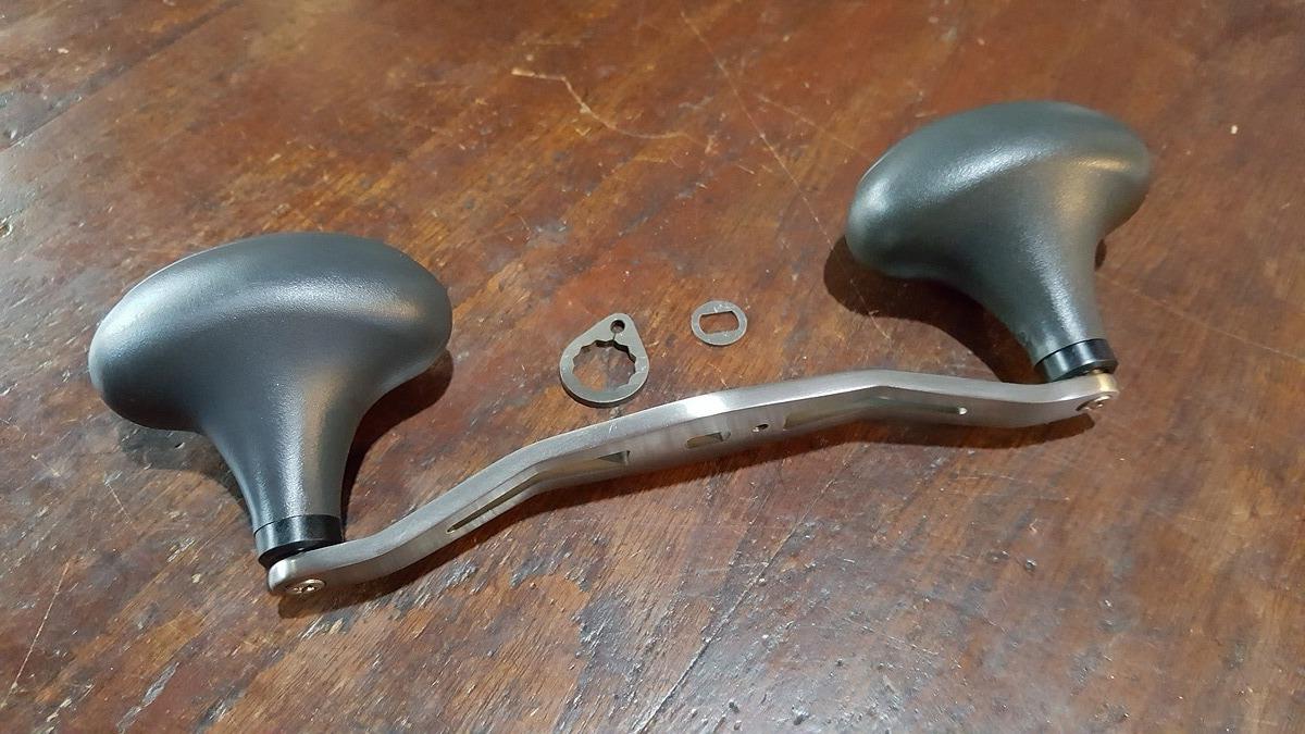 แขนคู่ titanium หนา4mm ยาว135mm