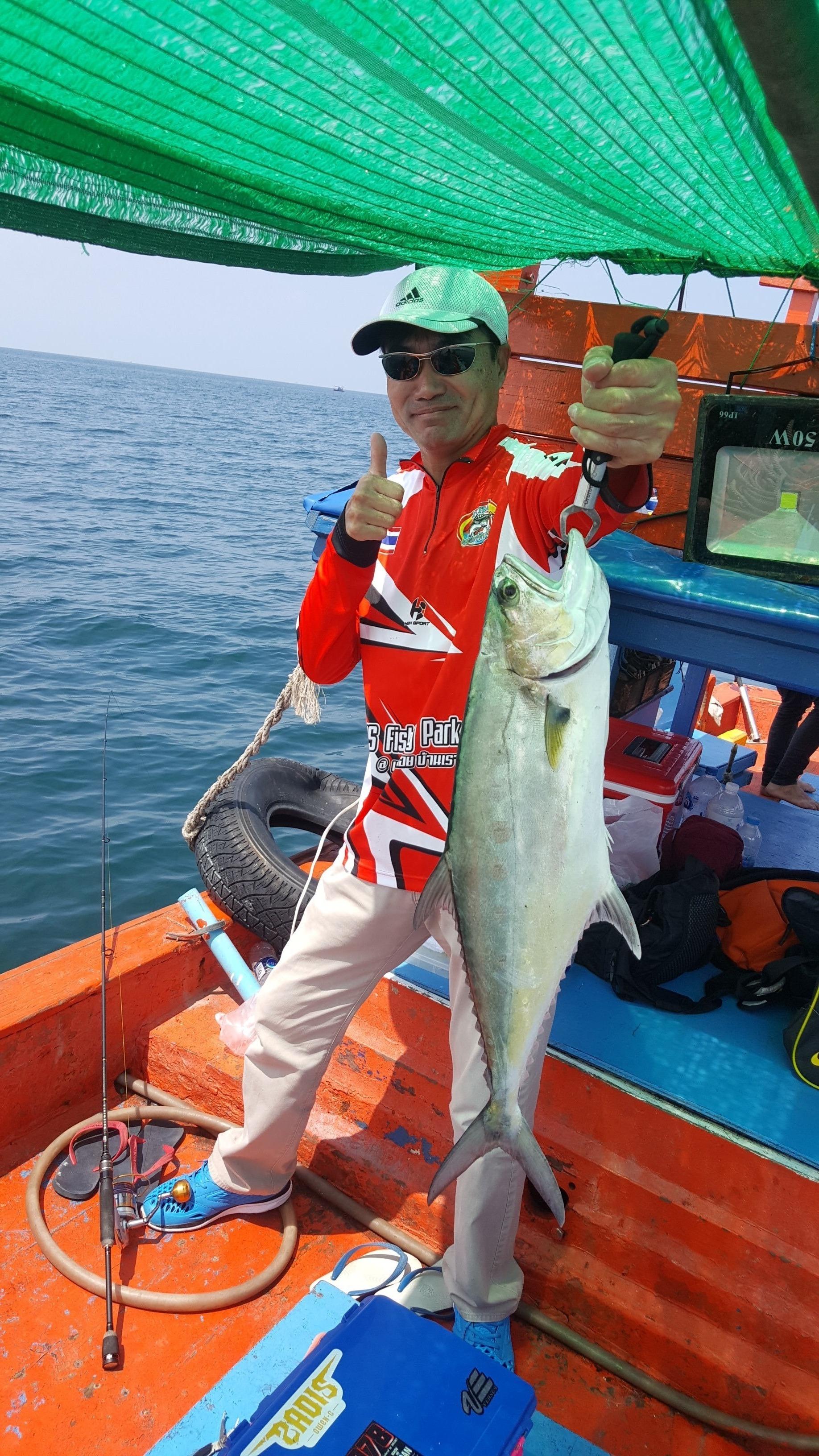 7/09/18 ตกปลาสละกับไต๋เต็งเกาะสีชัง