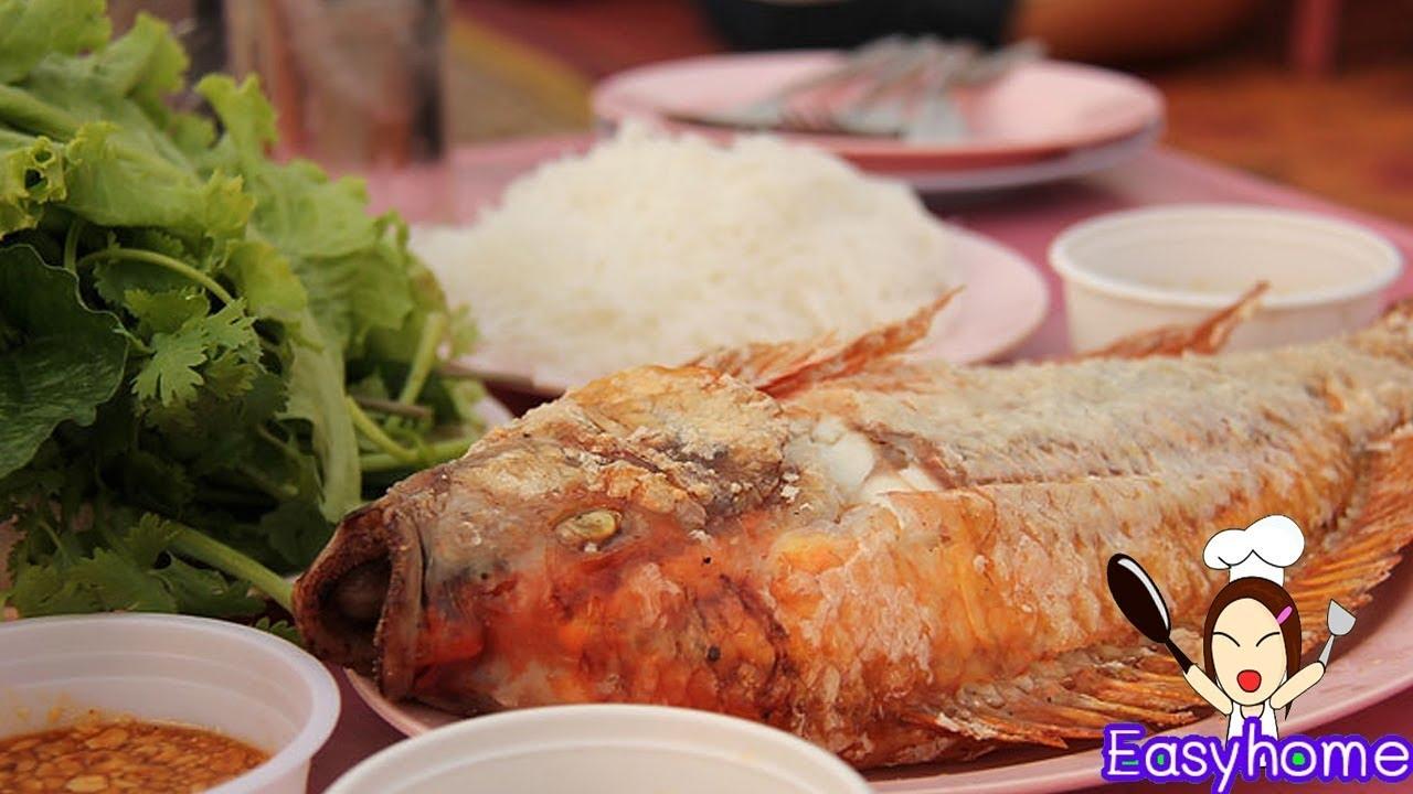 ทำเมี่ยงปลาทับทิมเผาเกลือ พร้อมสูตรน้ําจิ้มปลาเผาสูตรเด็ด
