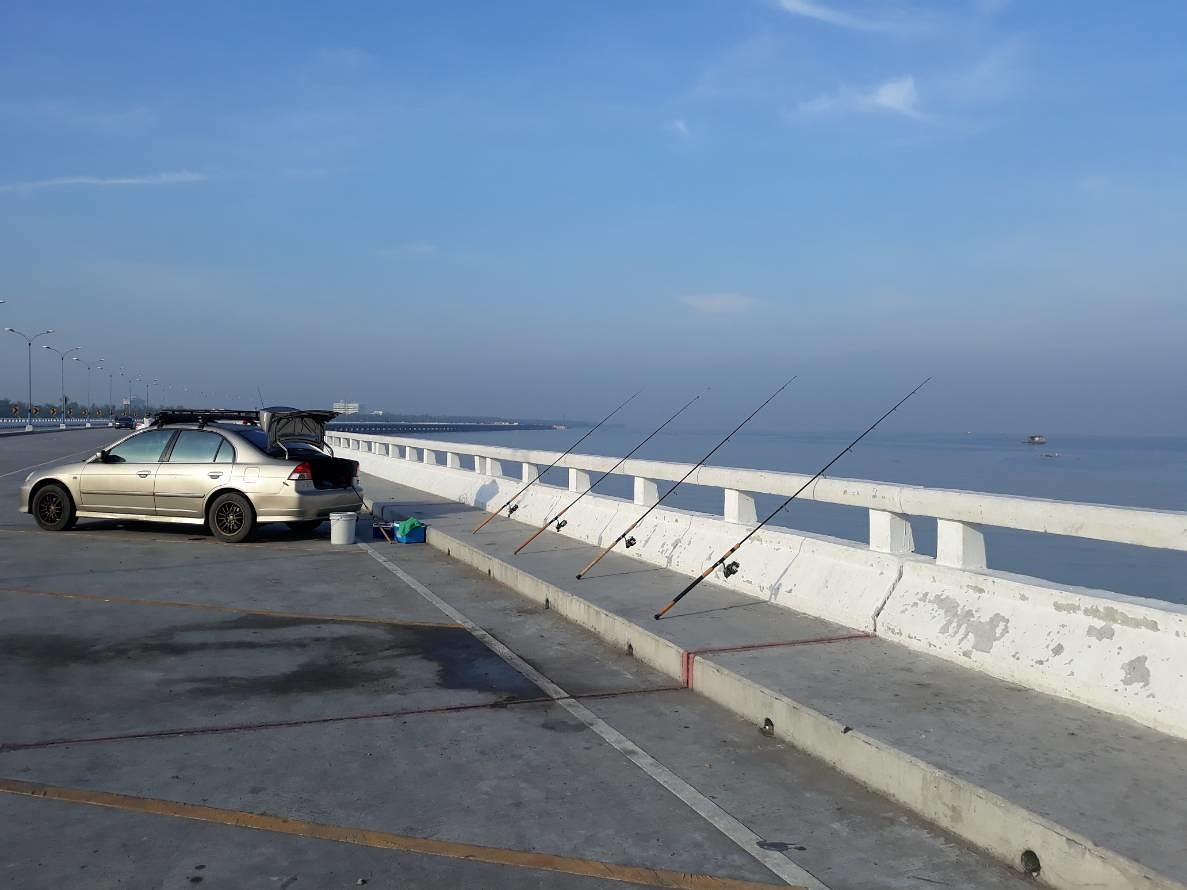 วันหยุดพอได้ตัว...สะพานใหม่ชลบุรี