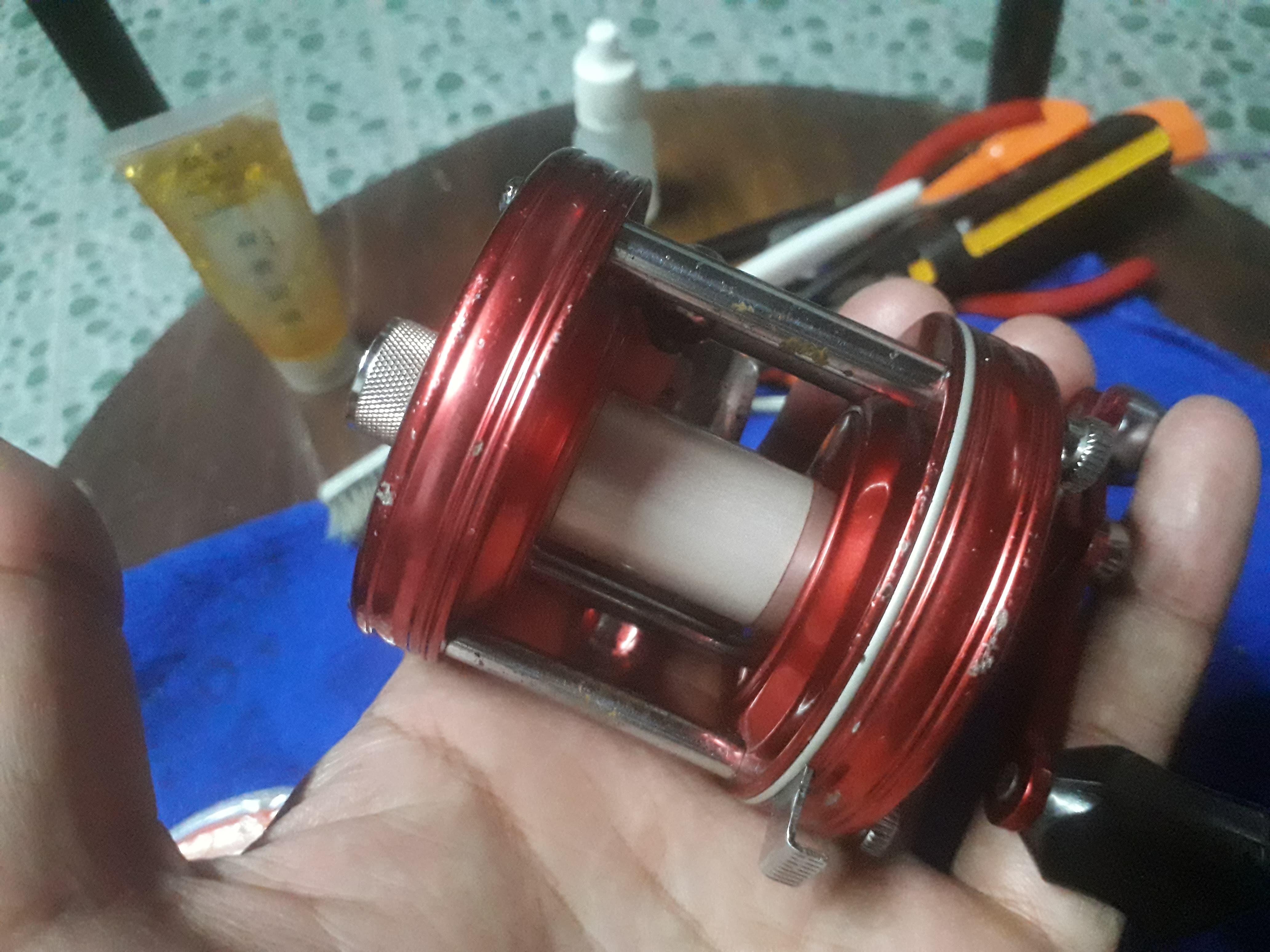 ล้างรอก อาบู 5000 C ภาค 1