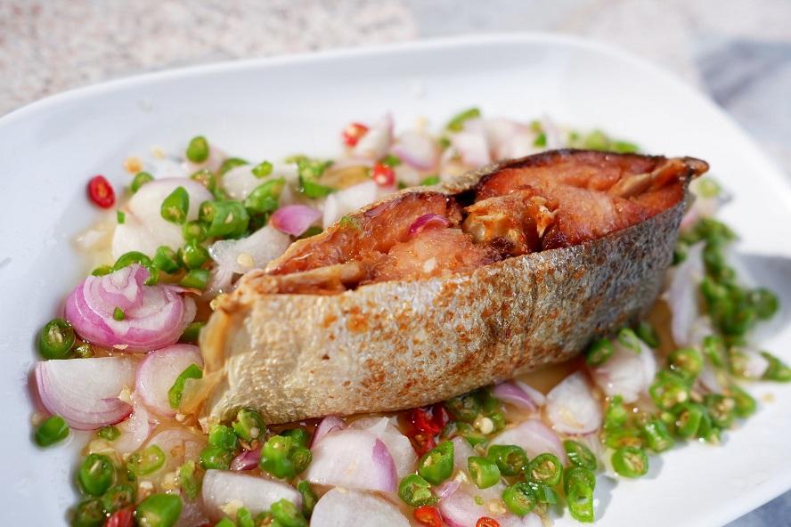 ปลาสละเค็ม - วิธีทำปลาสละเค็มแบบกลม หมดปัญหาการแบ่งปลาของนักตกปลา