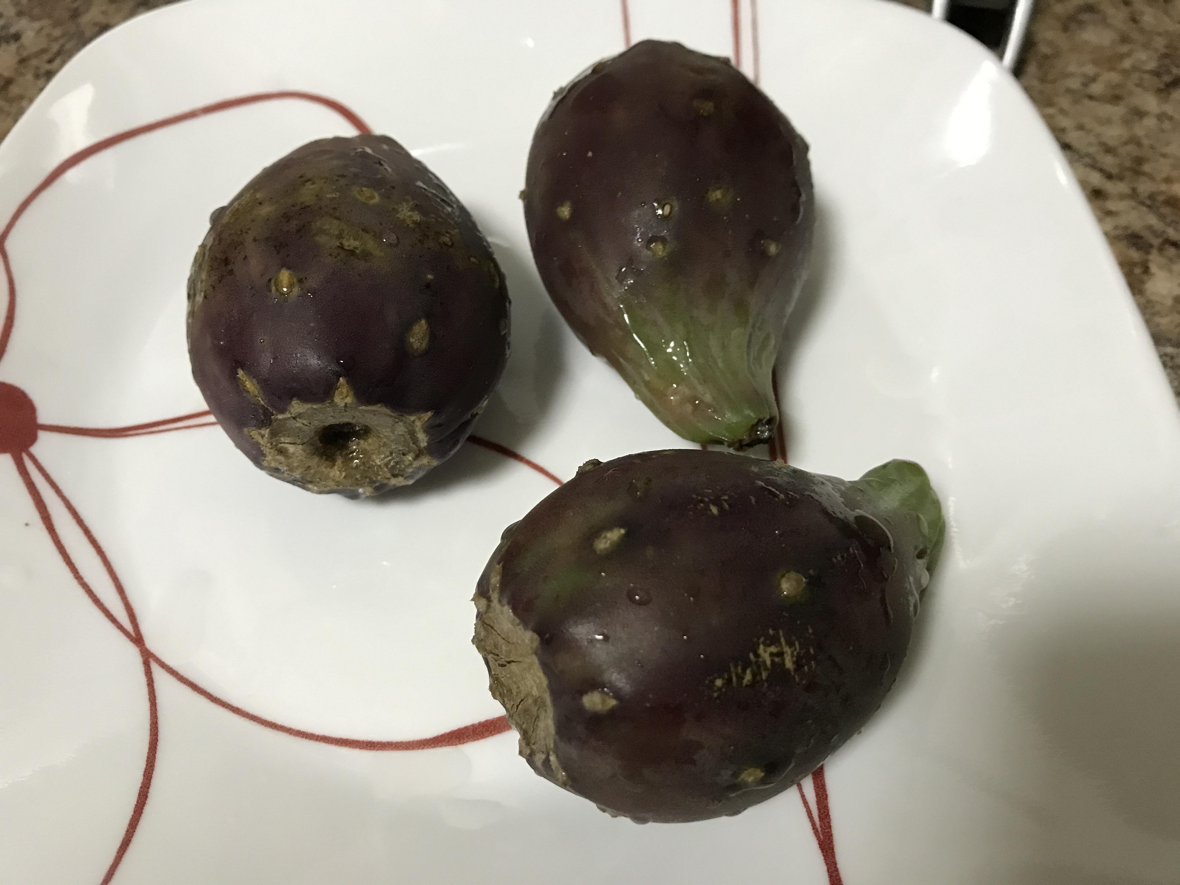 Prickly Pear ผลไม้สีเลือด