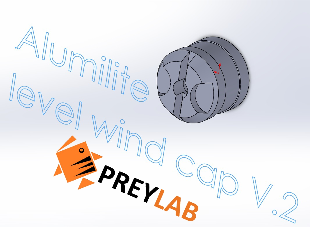 Level Wind Cap V.2 for Daiwa  by PREYLAB