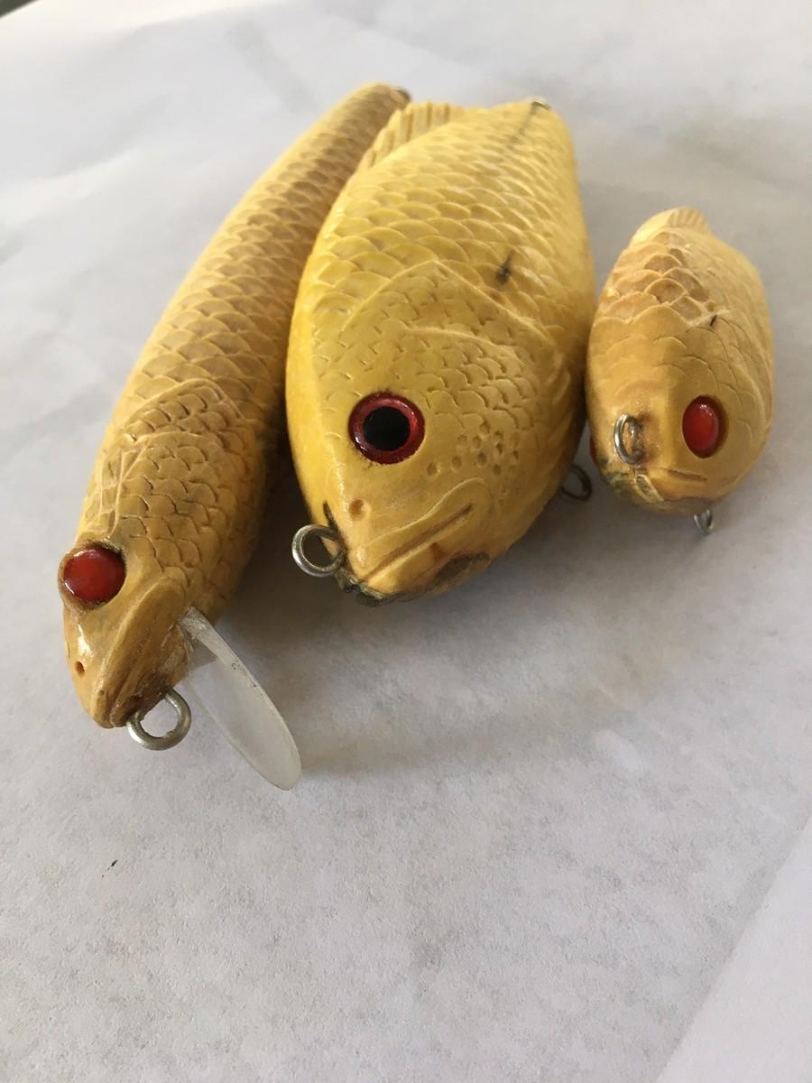 ปลาช่อน ปลาหมอ งานไม้