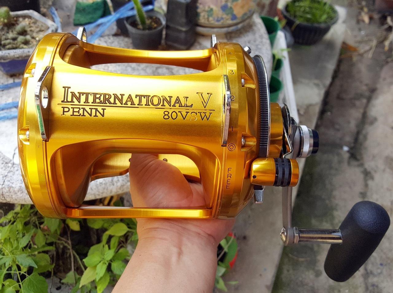 ผ่ารอก PENN INTERNATIONAL 80VSW