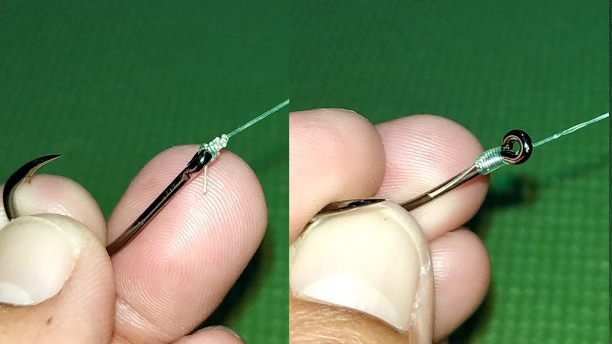 วิธีผูกเงื่อนตกปลา Trilene knot,Snell Uni knot