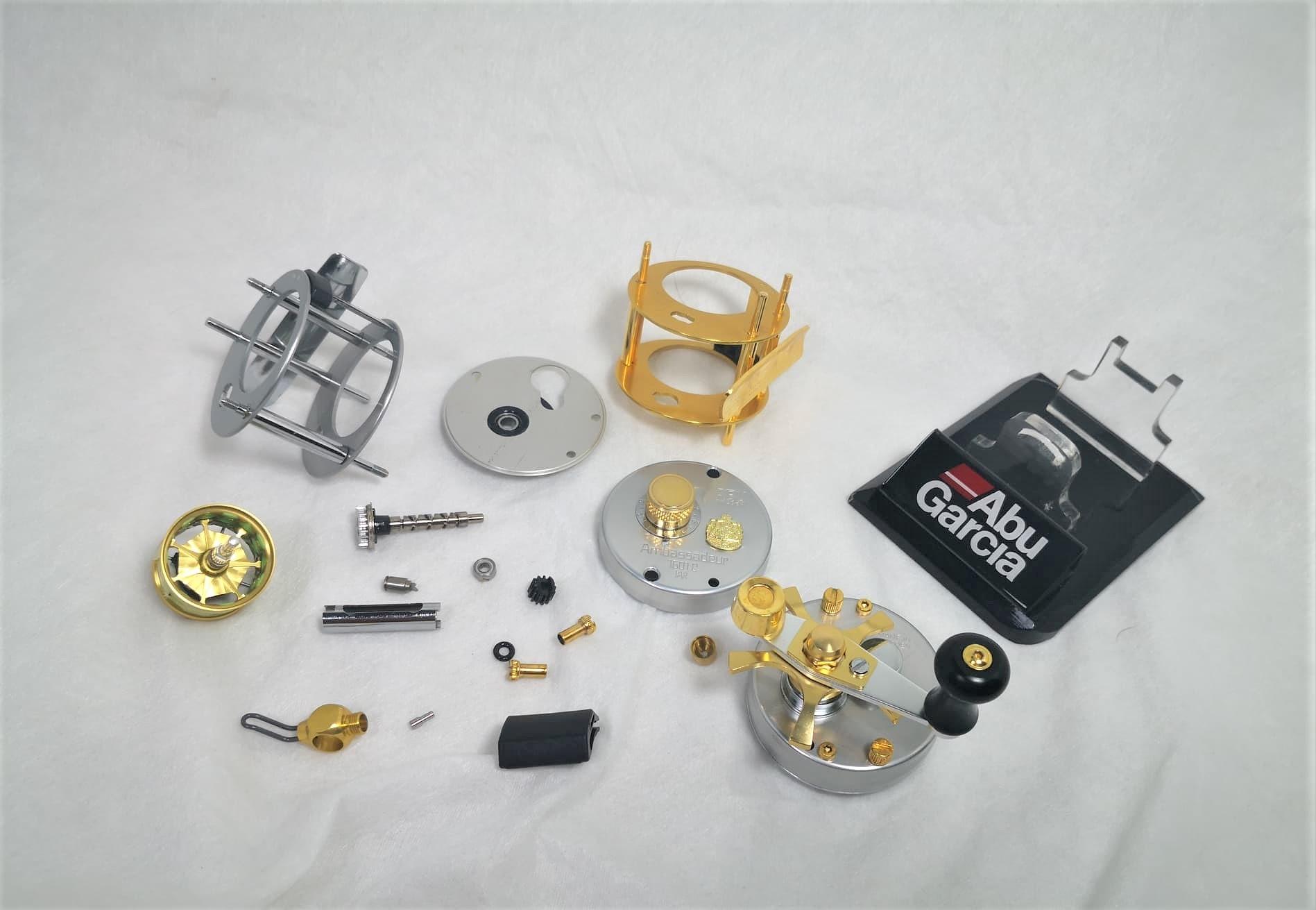 Abu Garcia 1601C IAR - Avail-GOLD Full Custom