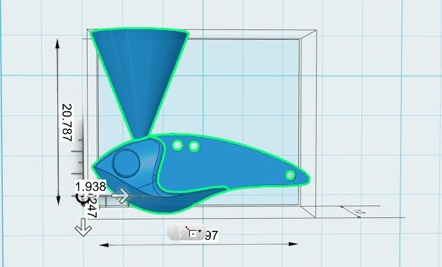 ลองทำ กระดี่เหล็ก 2.5 * 1 cm.