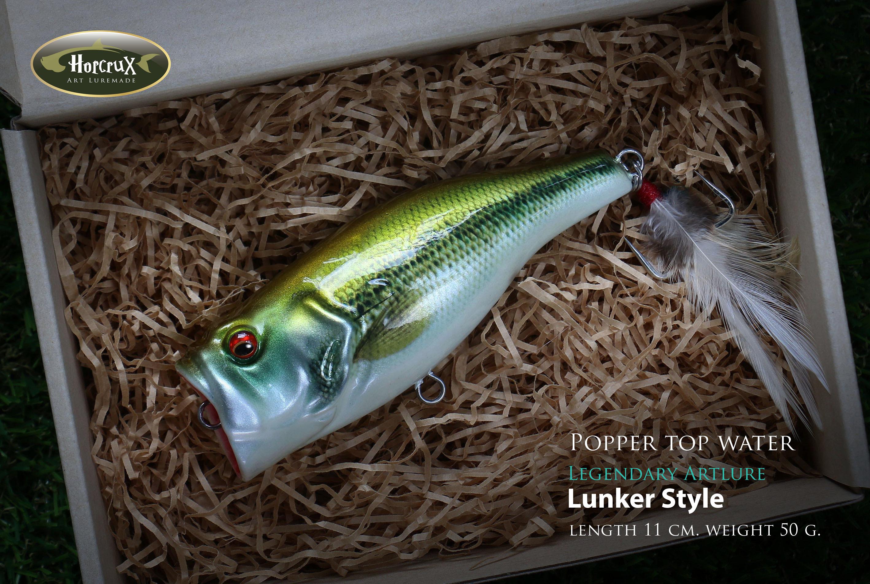 Popper legend : Lunker Style