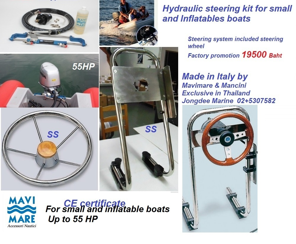 Hydraulic steering kit Made in Italy by Mavimare & Mancibi