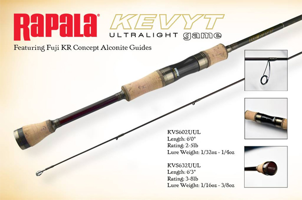 Rapala Kevyt ULTRALIGHT GAME